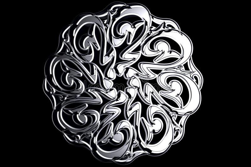 ισλαμικό σύμβολο προσε&ups ελεύθερη απεικόνιση δικαιώματος