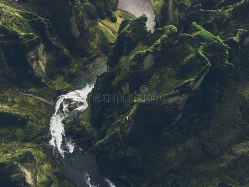 Ισλανδικοί πράσινοι λόφοι και panoramas στοκ εικόνες