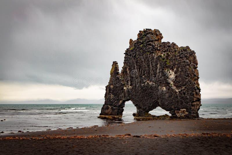 Ισλανδικός βράχος δεινοσαύρων στοκ φωτογραφία με δικαίωμα ελεύθερης χρήσης