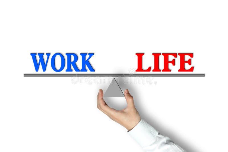 Ισορροπία ζωής εργασίας στοκ φωτογραφίες με δικαίωμα ελεύθερης χρήσης