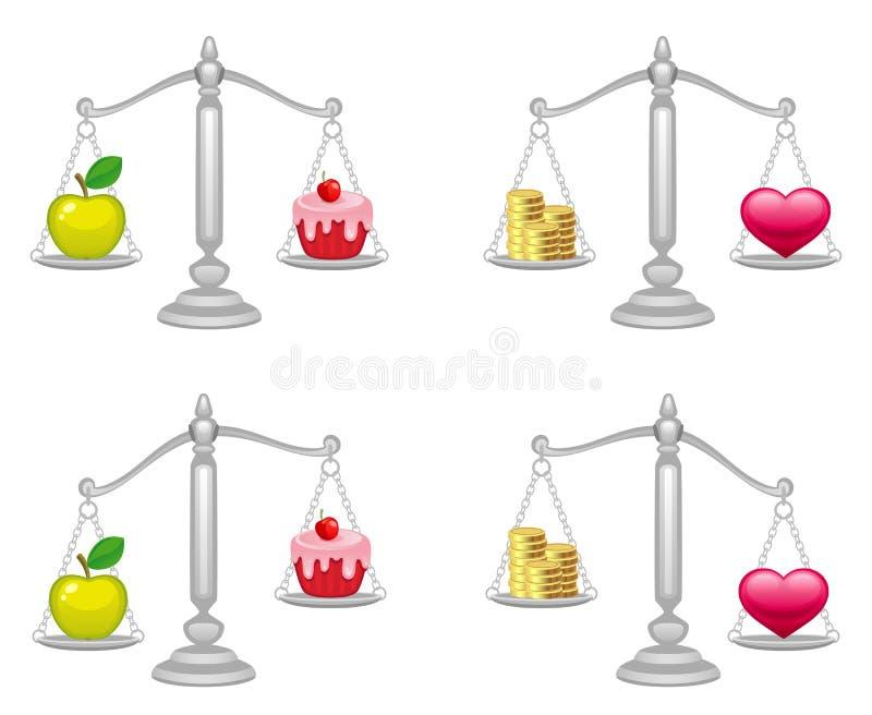 ισορροπία απεικόνιση αποθεμάτων