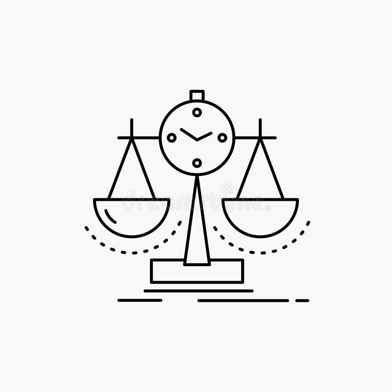 Ισορροπημένος, διαχείριση, μέτρο, scorecard, εικονίδιο γραμμών στρατηγικής : ελεύθερη απεικόνιση δικαιώματος