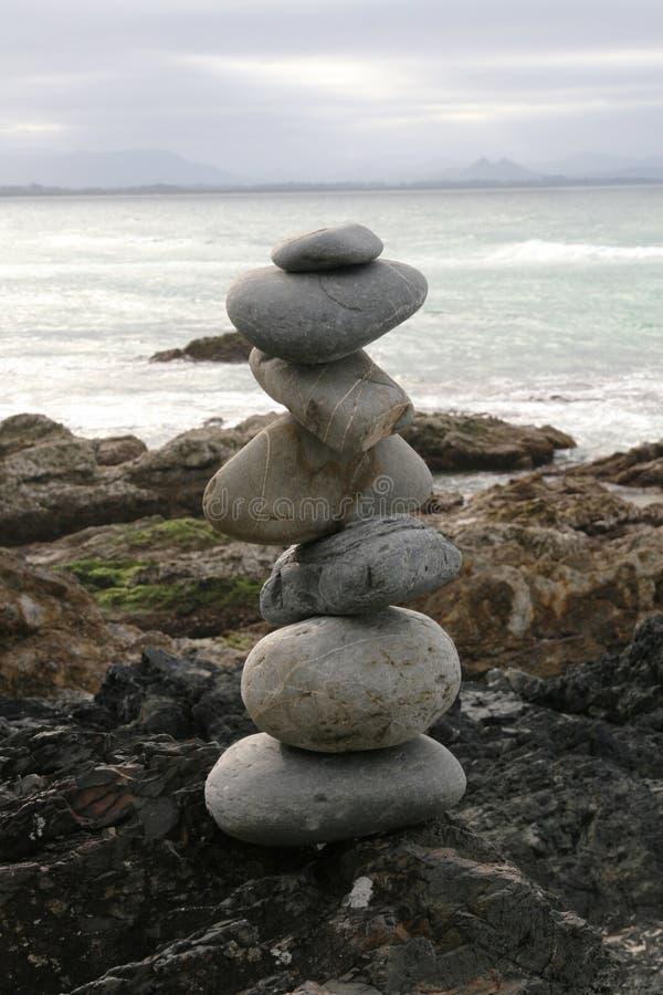 ισορροπώντας βράχοι στοκ εικόνες