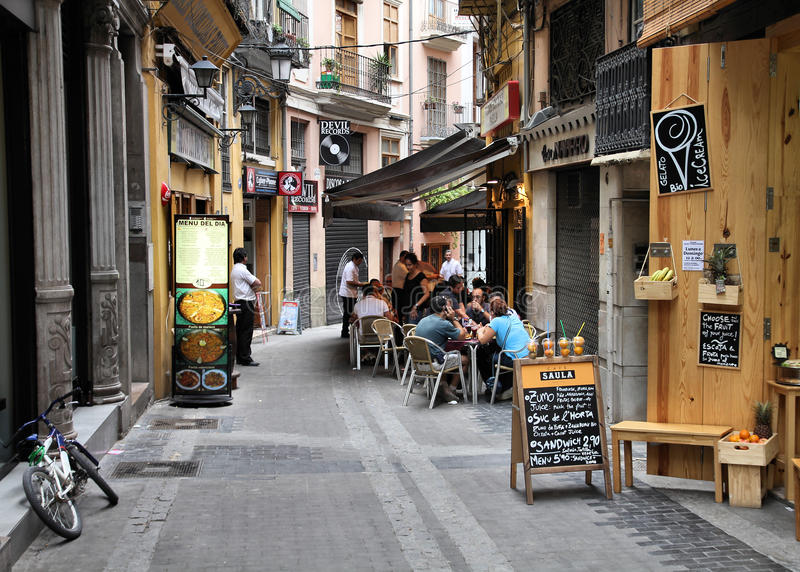 Ισπανία Βαλέντσια στοκ φωτογραφίες