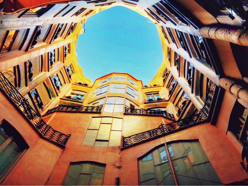 Ισπανία Βαρκελώνη στοκ φωτογραφία με δικαίωμα ελεύθερης χρήσης