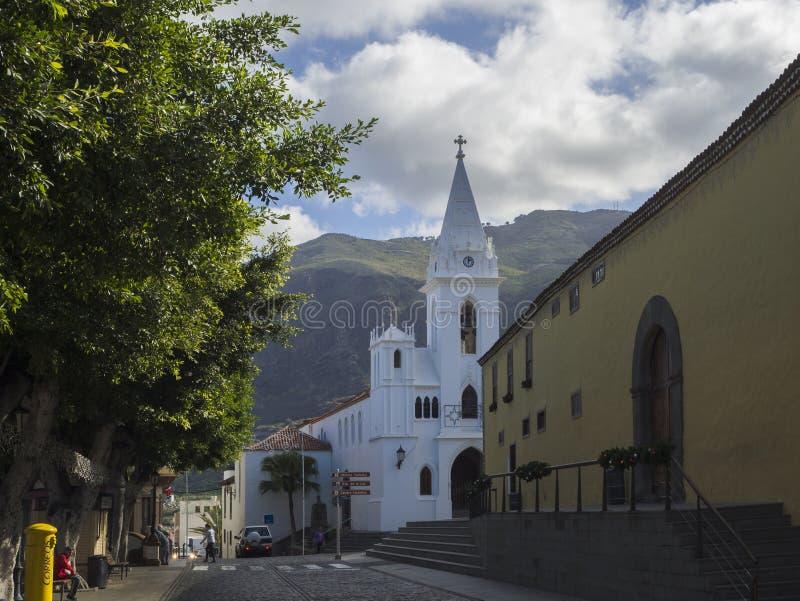 Ισπανία, Κανάρια νησιά, Tenerife, σιλό Los, στις 19 Δεκεμβρίου 2017: wh στοκ φωτογραφία με δικαίωμα ελεύθερης χρήσης