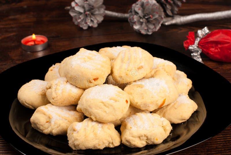 Ισπανικά μπισκότα Χριστουγέννων στοκ εικόνες