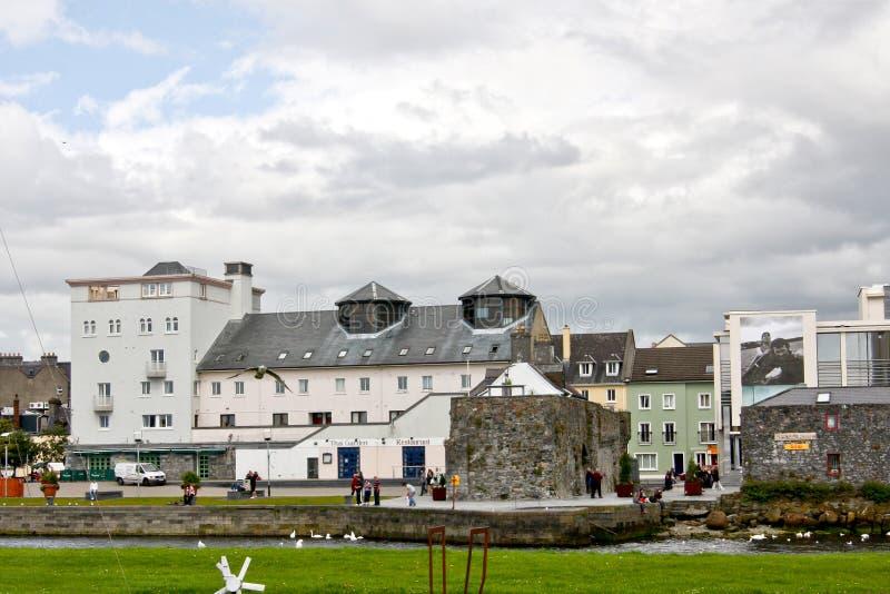 Ισπανική αψίδα, σπίτι Galway του μουσείου πόλεων, κοντά στον ποταμό Corrib, Galway πόλη, κομητεία Galway στοκ εικόνες