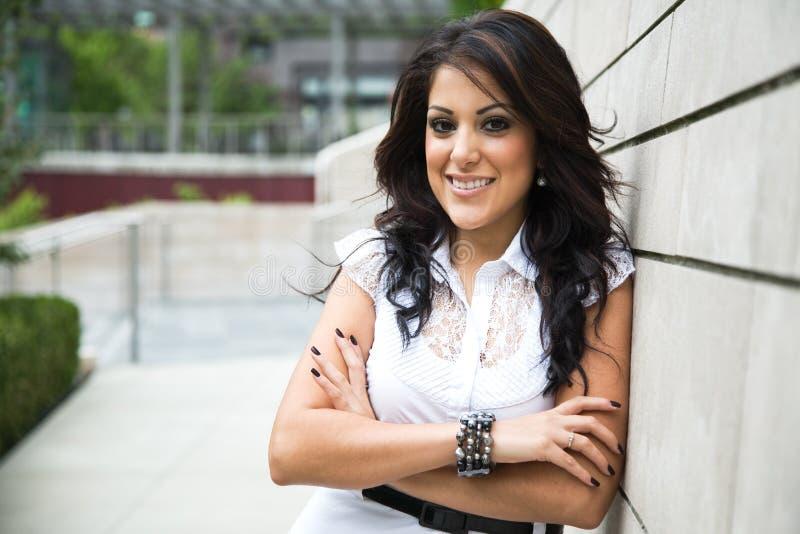 Ισπανική επιχειρηματίας στοκ φωτογραφίες