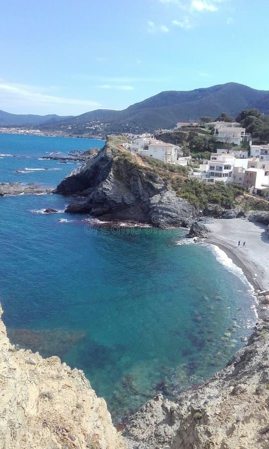 Ισπανική παραλία στοκ εικόνες