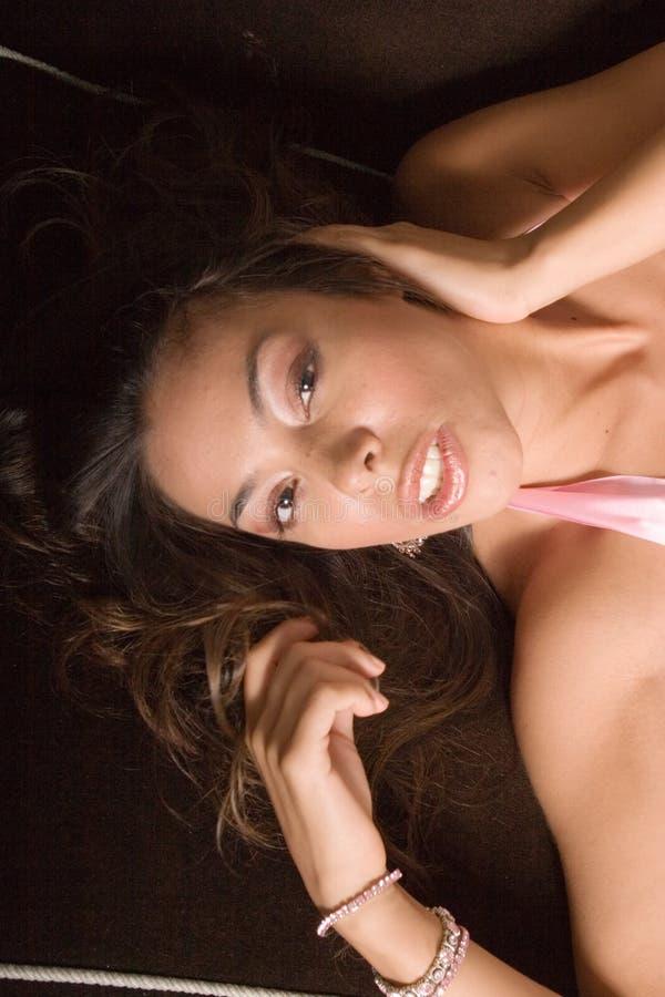 ισπανική προκλητική γυναίκα στοκ εικόνα
