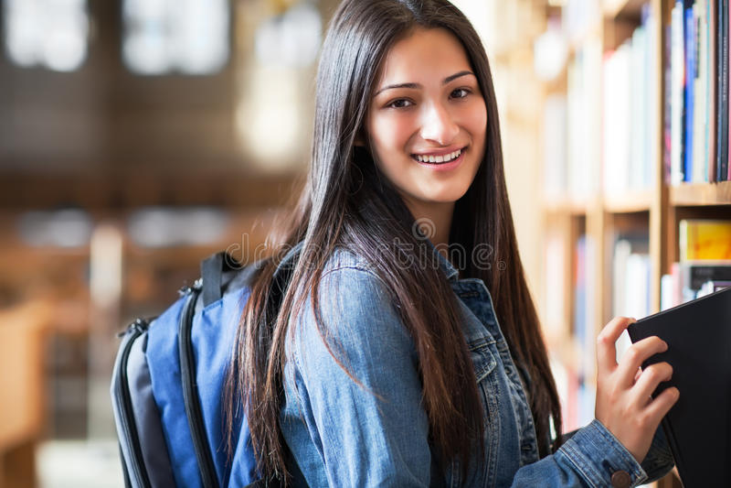 Ισπανικός φοιτητής πανεπιστημίου στοκ φωτογραφία