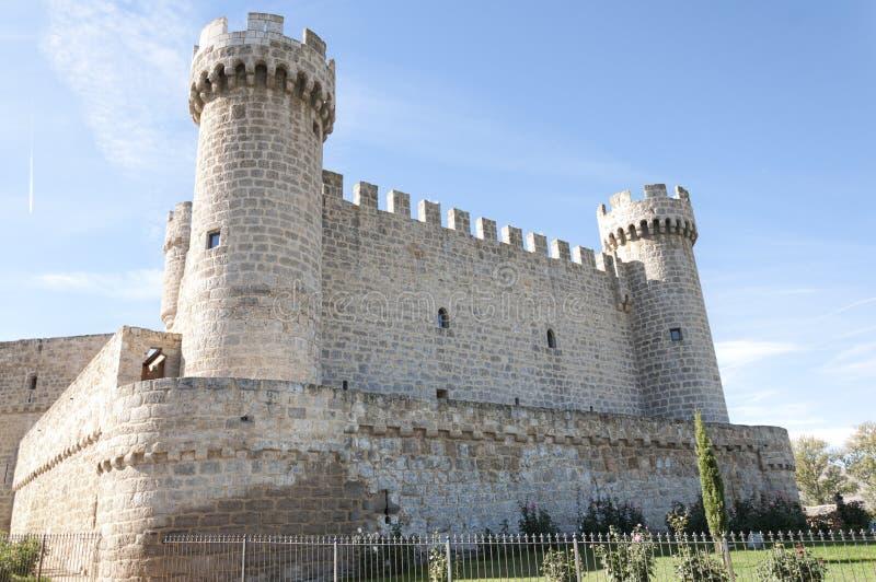 Ισπανικό κάστρο στοκ φωτογραφία με δικαίωμα ελεύθερης χρήσης