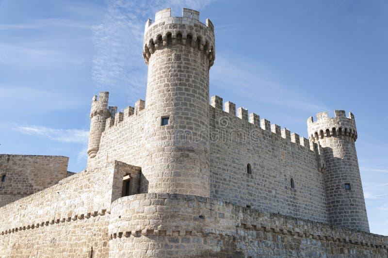 Ισπανικό κάστρο στοκ εικόνες