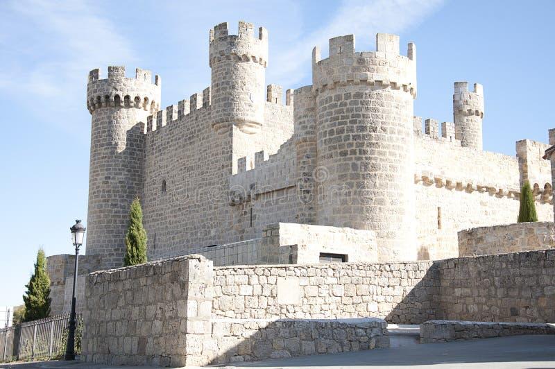 Ισπανικό κάστρο στοκ φωτογραφία