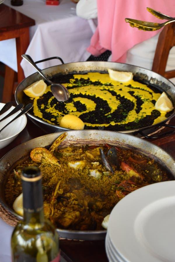 Ισπανικό μαγείρεμα στοκ εικόνες
