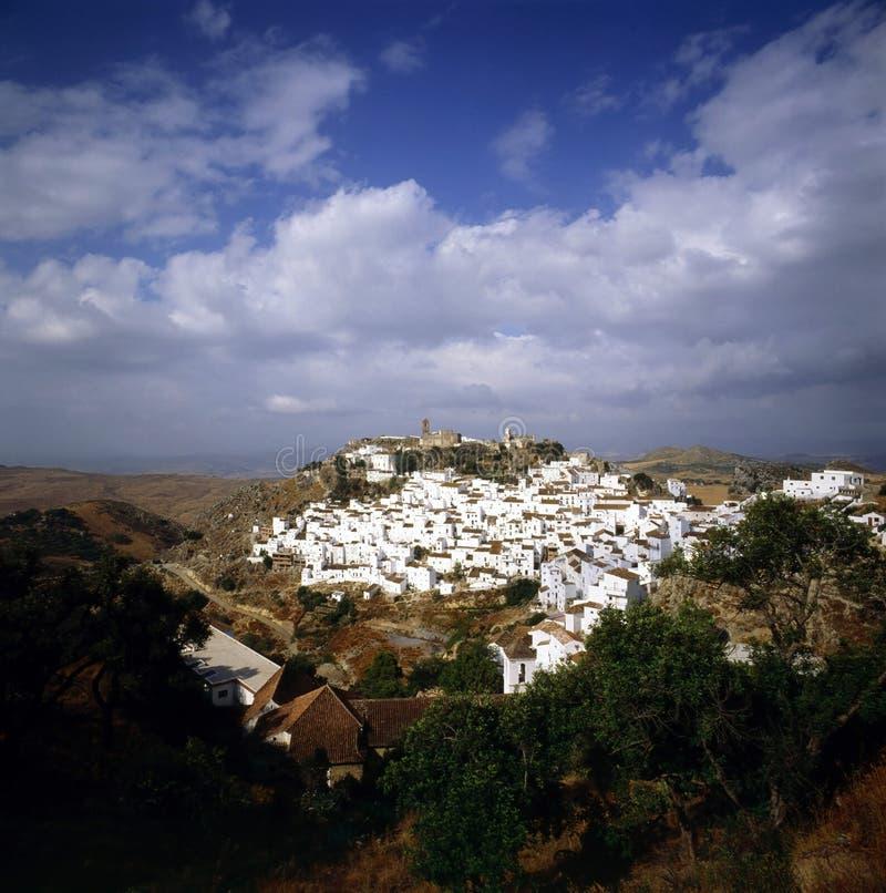 Ισπανικό χωριό στοκ φωτογραφίες με δικαίωμα ελεύθερης χρήσης