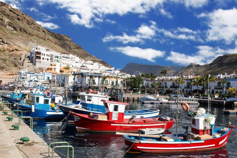 Ισπανικό ψαροχώρι στοκ φωτογραφίες με δικαίωμα ελεύθερης χρήσης