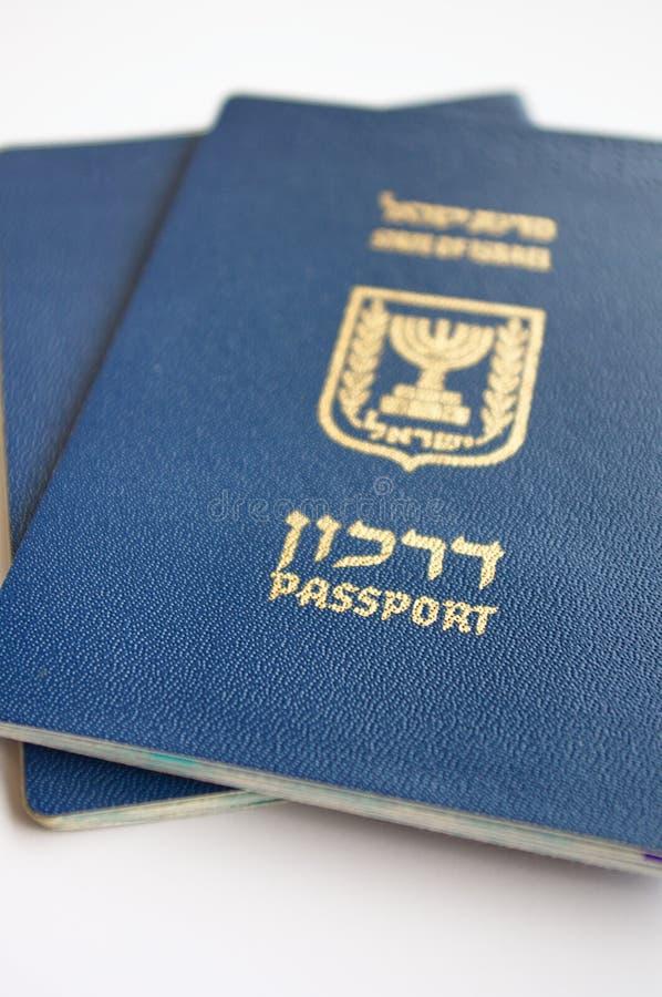 ισραηλινά διαβατήρια στοκ φωτογραφία με δικαίωμα ελεύθερης χρήσης