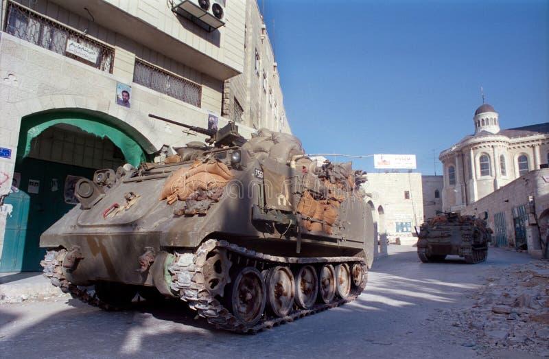 ισραηλινές δεξαμενές στοκ φωτογραφίες