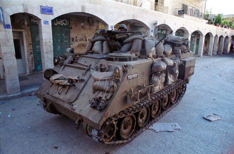 ισραηλινή δεξαμενή στοκ φωτογραφία με δικαίωμα ελεύθερης χρήσης
