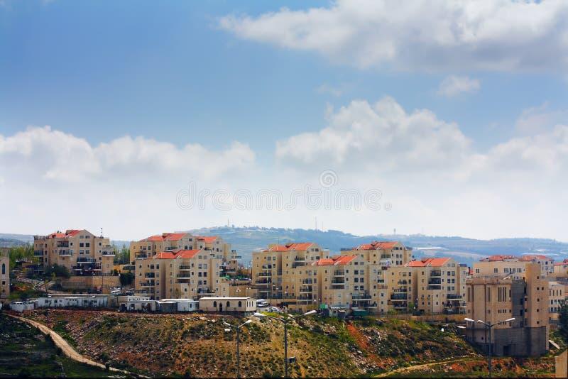 Ισραηλινή τακτοποίηση Illit Beitar στη Δυτική Όχθη στοκ φωτογραφίες