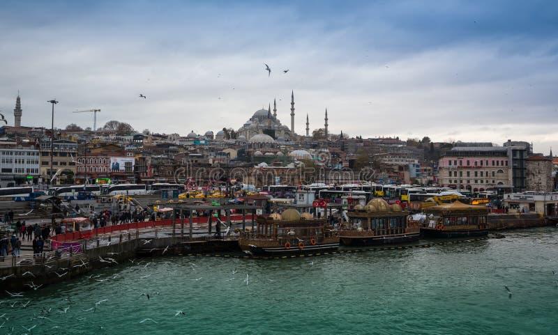 Ιστανμπούλ η πρωτεύουσα της Τουρκίας, ανατολική πόλη τουριστών στοκ εικόνες
