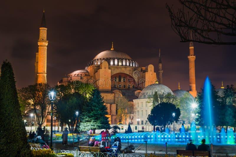 Ιστανμπούλ, Τουρκία - 6 28 2018: Hagia Sophia στοκ φωτογραφία με δικαίωμα ελεύθερης χρήσης