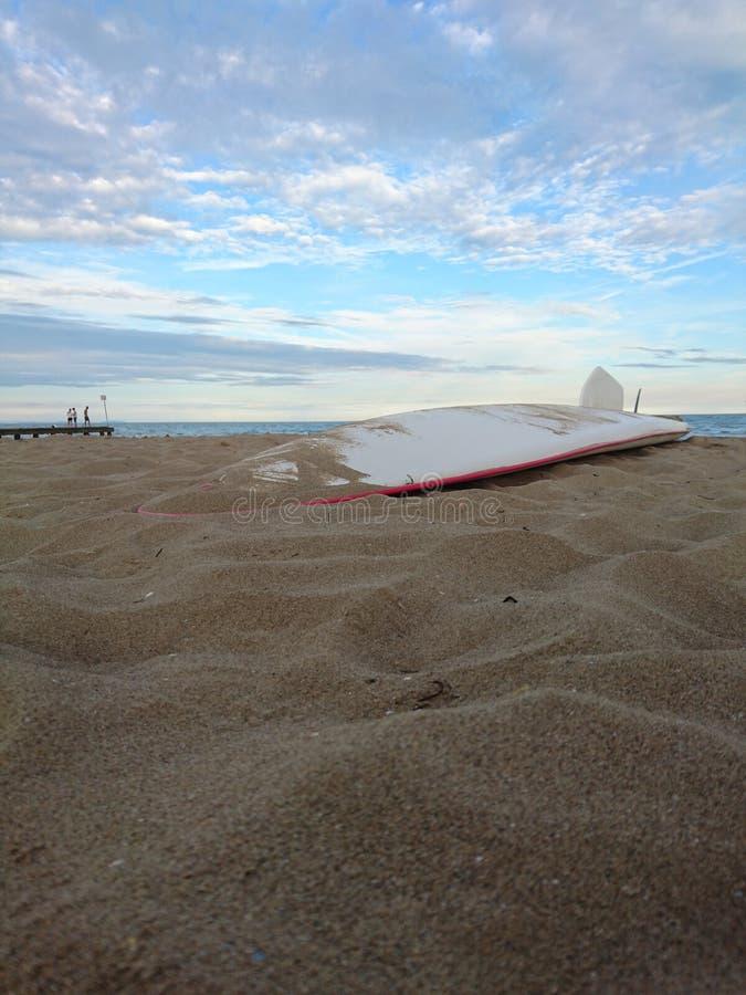 Ιστιοσανίδα Lido Di Jesolo Beach στοκ εικόνες