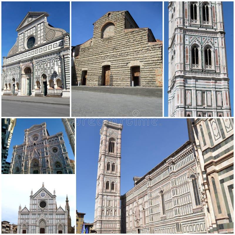 Ιστορία τέχνης και πολιτισμός στις Florentine εκκλησίες - Φλωρεντία - Ital στοκ εικόνες