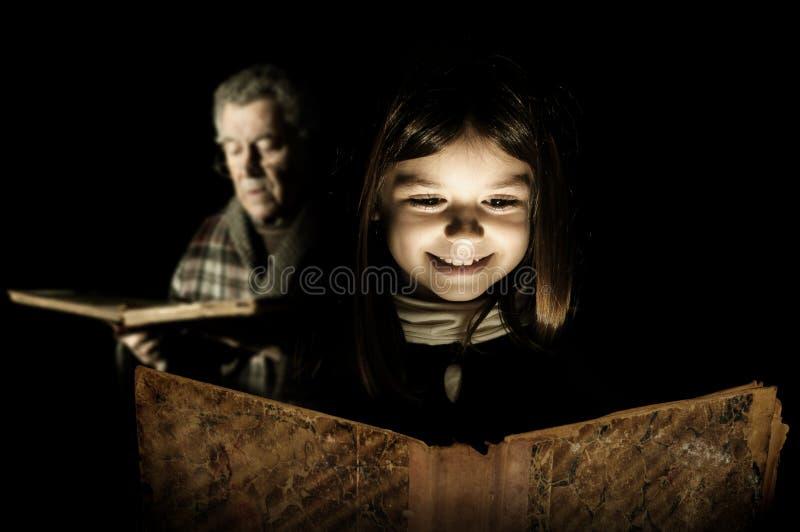 Ιστορίες Grandpa στοκ εικόνα