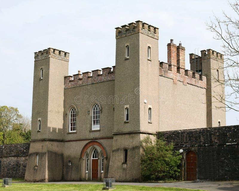 Ιστορικά βασιλικά παλάτια οχυρών Hillsborough στοκ εικόνες