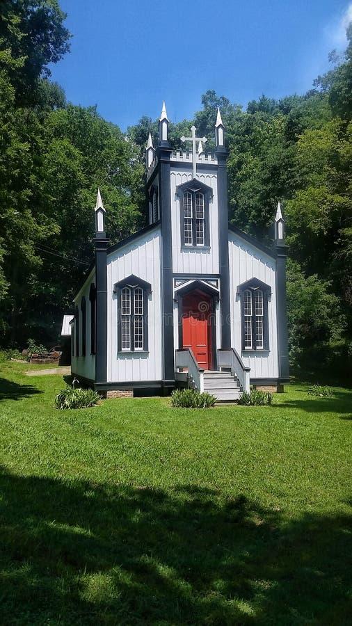 Ιστορικά εγκαταλειμμένα θέσεις κτήρια εκκλησιών στοκ φωτογραφία με δικαίωμα ελεύθερης χρήσης