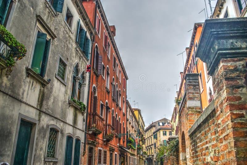 Ιστορικά κτήρια στη Βενετία στοκ εικόνα με δικαίωμα ελεύθερης χρήσης
