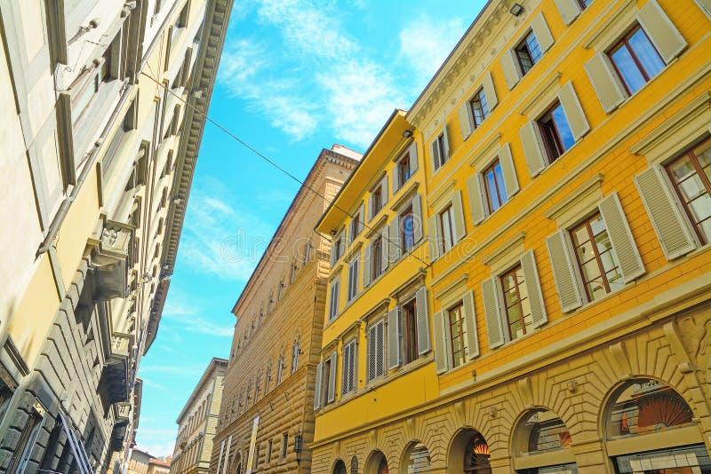 Ιστορικά κτήρια στη Φλωρεντία στοκ εικόνα