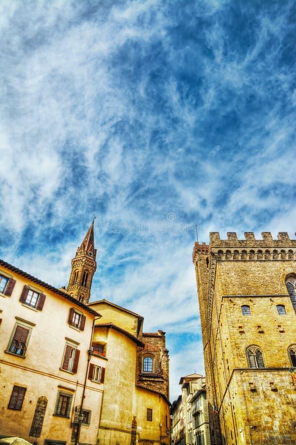 Ιστορικά κτήρια στη Φλωρεντία στοκ φωτογραφίες με δικαίωμα ελεύθερης χρήσης