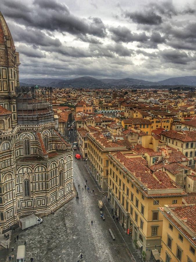 Ιστορικά κτήρια της Ιταλίας στον καθεδρικό ναό της Φλωρεντίας στοκ φωτογραφία με δικαίωμα ελεύθερης χρήσης