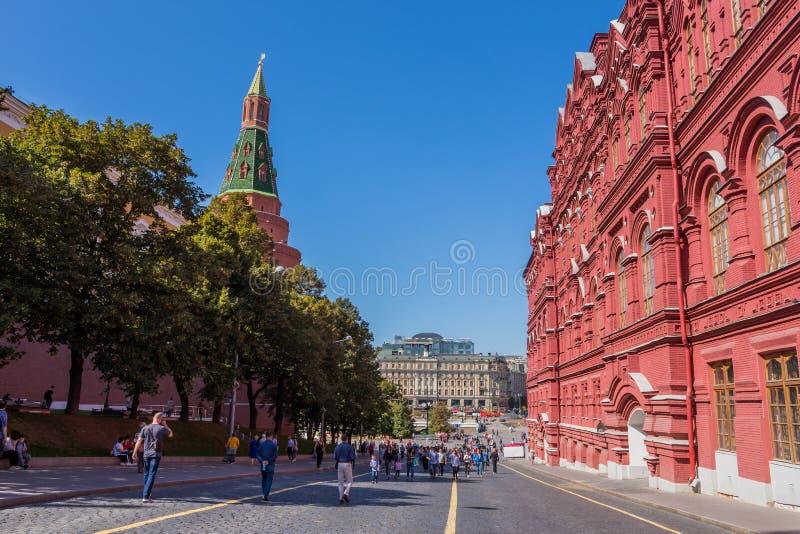 Ιστορικά κτίρια στην Κόκκινη Πλατεία στοκ φωτογραφία με δικαίωμα ελεύθερης χρήσης