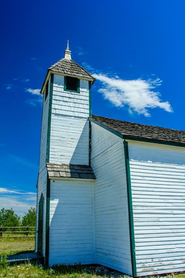 Ιστορικά πρώτα έθνη Morley εκκλησιών McDougall στοκ φωτογραφίες με δικαίωμα ελεύθερης χρήσης