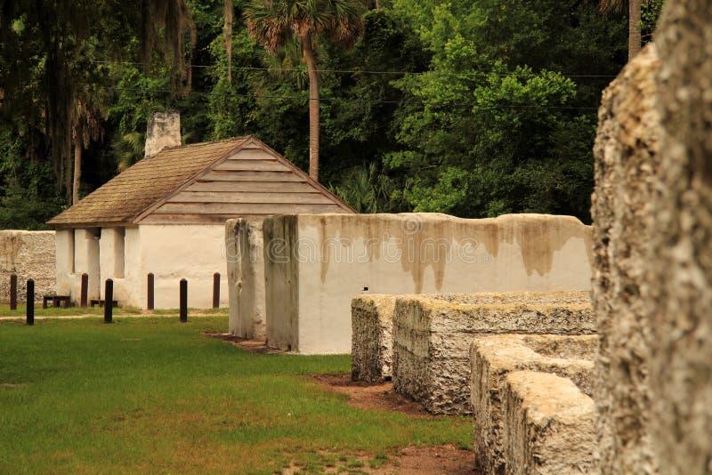Ιστορικά τέταρτα σκλάβων στοκ εικόνες