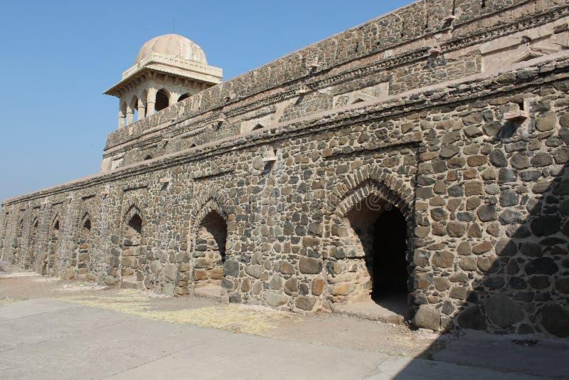 Ιστορική αρχιτεκτονική, περίπτερο roopmati rani στοκ φωτογραφία με δικαίωμα ελεύθερης χρήσης