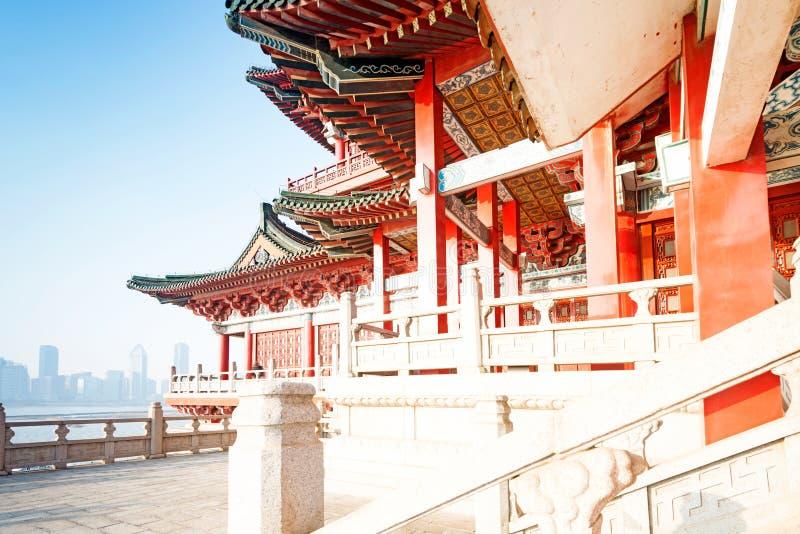 Ιστορική αρχιτεκτονική της Κίνας στοκ φωτογραφία