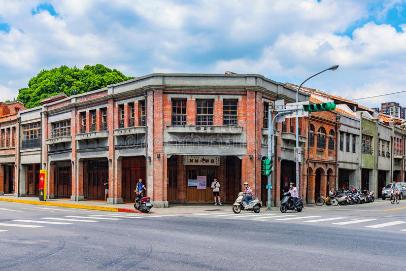 Ιστορική αρχιτεκτονική φραγμών Bopiliao στοκ εικόνα