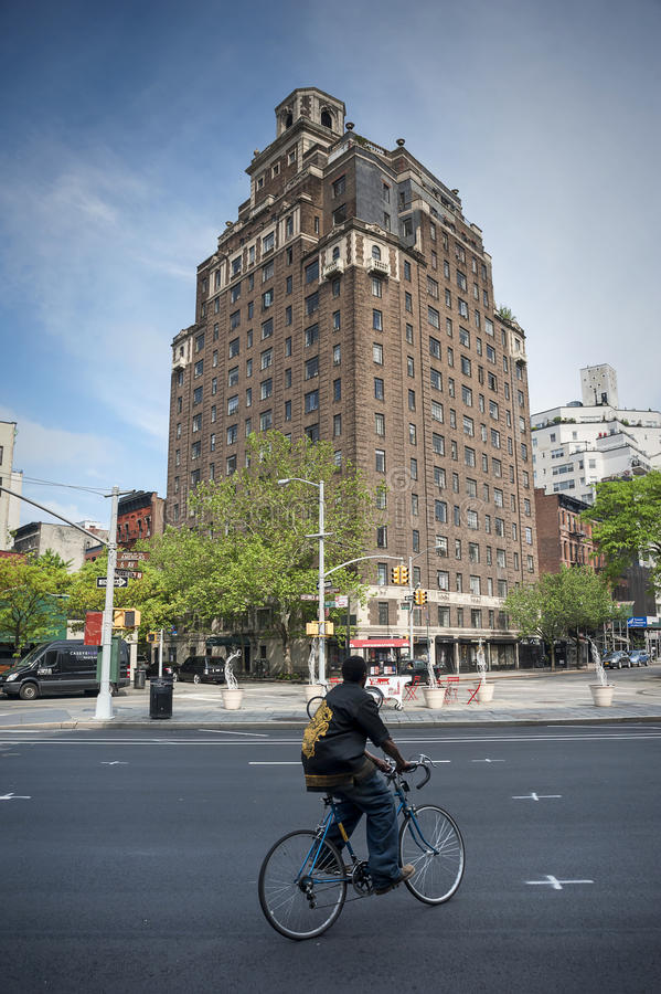 Ιστορική γειτονιά Greenwich Village του Μανχάταν, Νέα Υόρκη στοκ φωτογραφίες με δικαίωμα ελεύθερης χρήσης