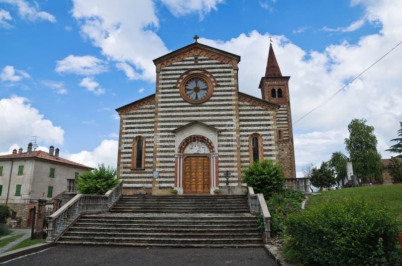 Download Ιστορική εκκλησία της Αιμιλίας-Ρωμανίας. Ιταλία. Στοκ Εικόνες - εικόνα από πρόσοψη, έξω: 22775698