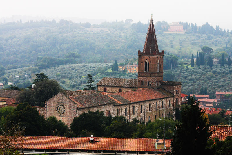 Ιστορική εκκλησία της Περούτζια, περιοχή της Ουμβρίας στην Ιταλία στοκ εικόνες με δικαίωμα ελεύθερης χρήσης
