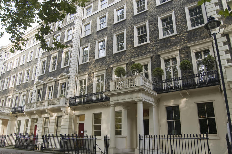 Ιστορική  Οικία  Lytton Strachey, Bloomsbury Στοκ Φωτογραφίες
