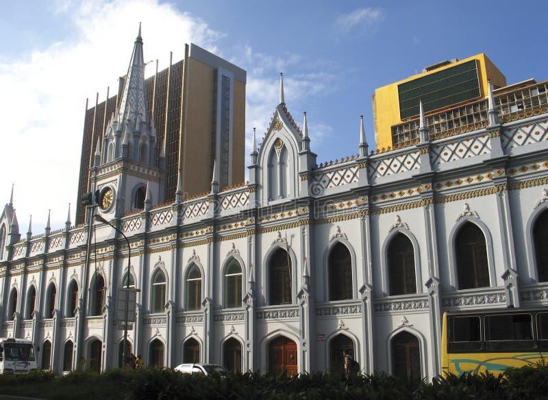Ιστορική οικοδόμηση του ακαδημαϊκού παλατιού στο κέντρο της πόλης Καράκας Βενεζουέλα στοκ φωτογραφία με δικαίωμα ελεύθερης χρήσης