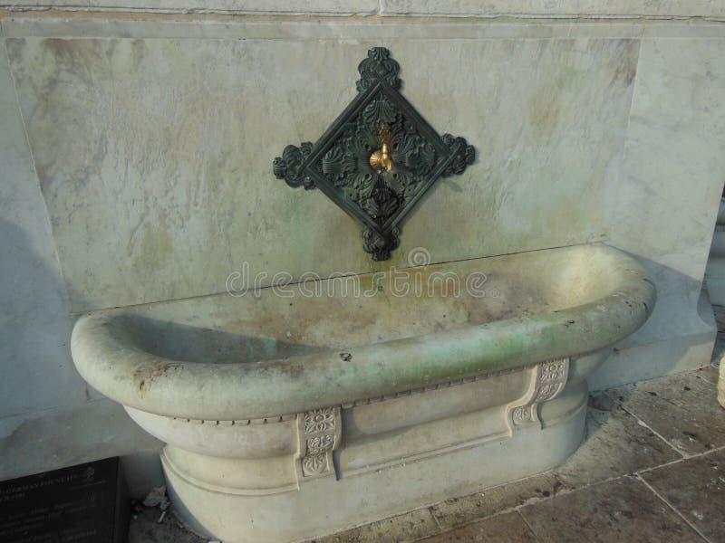Ιστορική πηγή της Ιστανμπούλ, Kaiser Wilhelm Fountain στη Ιστανμπούλ στοκ φωτογραφία με δικαίωμα ελεύθερης χρήσης