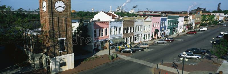Ιστορική προκυμαία στην πόλη της Τζωρτζτάουν στοκ φωτογραφίες με δικαίωμα ελεύθερης χρήσης